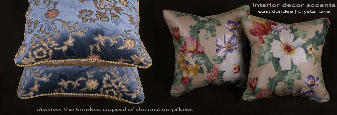 Discover Decorative Pillow Decor | Interior Design Accents