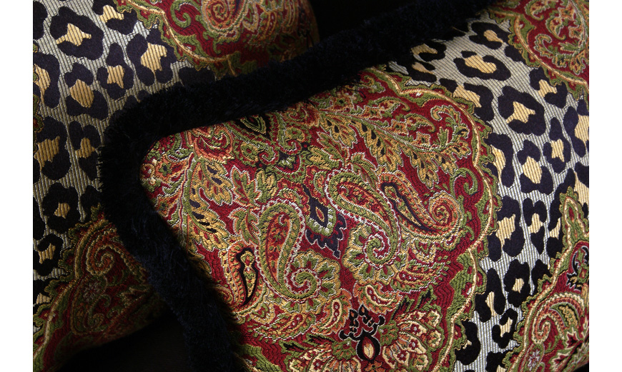 Animal Allure in Decorative Throw Pillows | Leopards, Tigers and Zebras