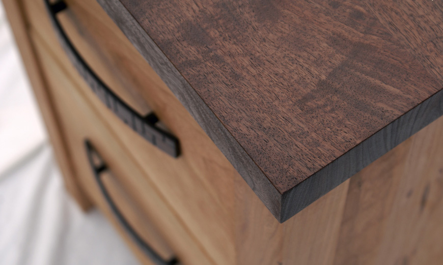 Chardon Hardwood Office Furniture | Solid Cherry and Walnut