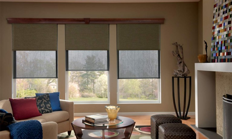 Graber Lightweaves Solar Shades | Custom Window Treatments from Spiritcraft Design