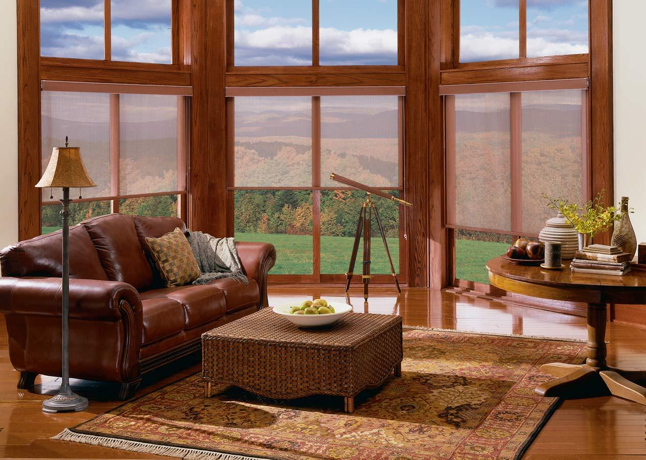 Graber Lightweaves Solar Shades | Custom Window Treatments from Spiritcraft Design