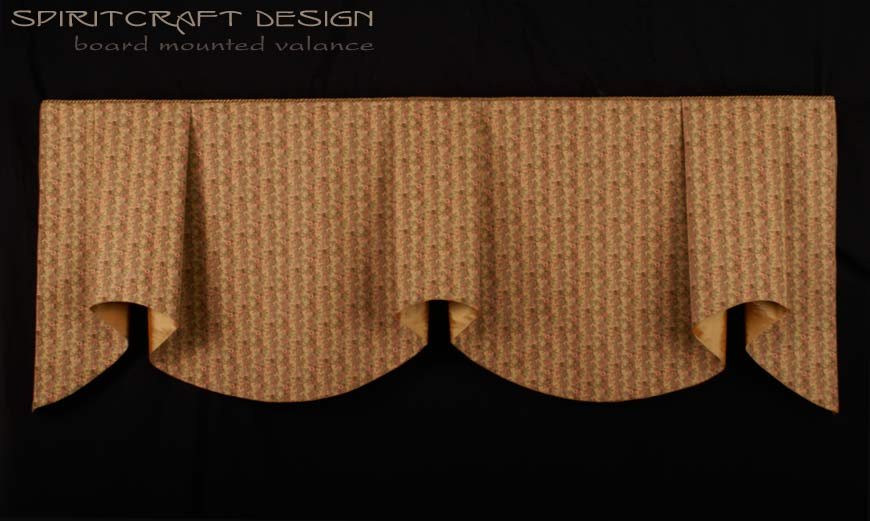 board mounted valance custom window treatments interior