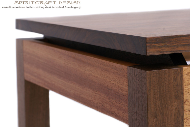 Walnut And Mahogany Desk And Dining Table Solid Hardwood