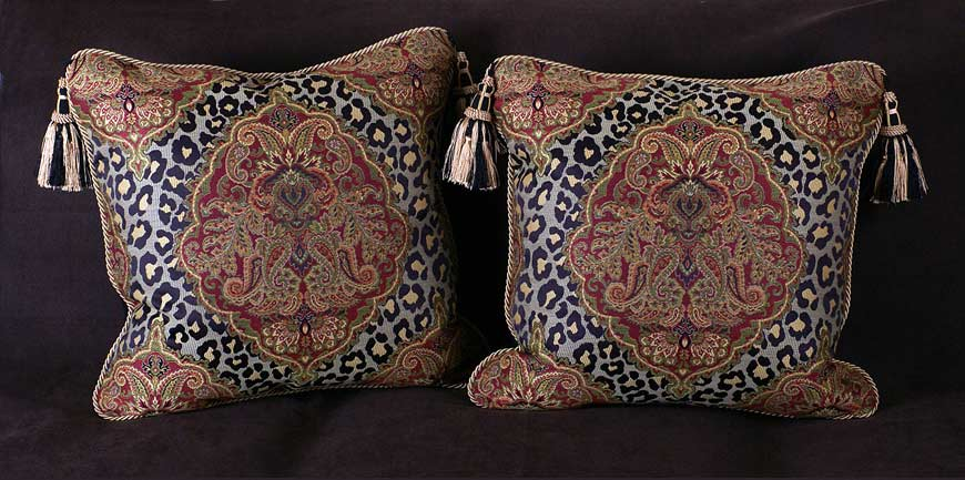 decorative-accent-pillows-in-leopard-damask-fabric-from-interior-design-accents-in-barrington-illinois-and-lake-geneva-wisconsin