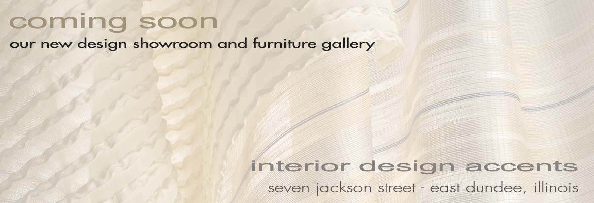 coming soon – a new interior design showroom and furniture gallery to 7 jackson st, east dundee, il