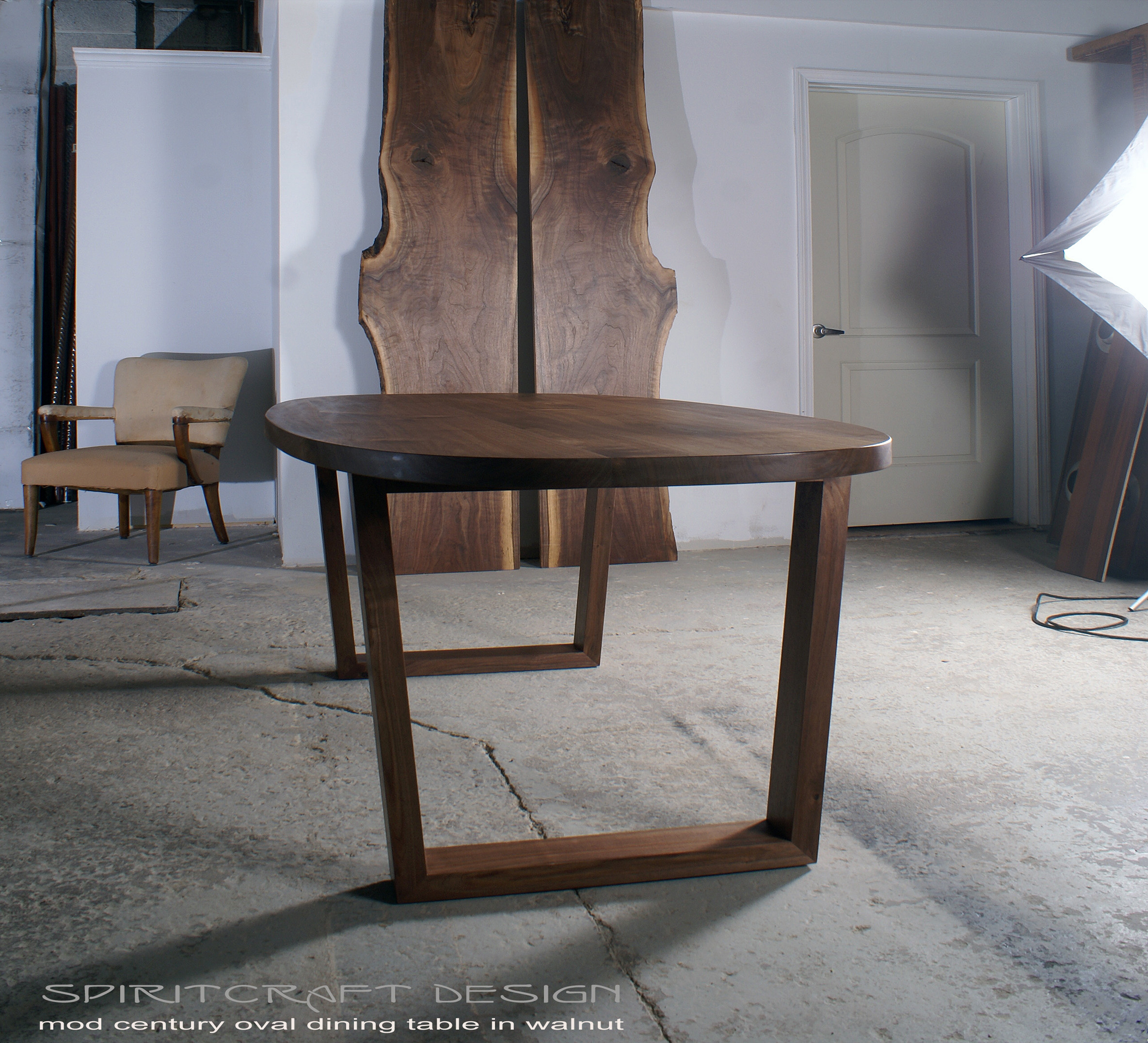 Popular Timeless Design meets Enduring Quality in a Modern Walnut Dining Table YJ25