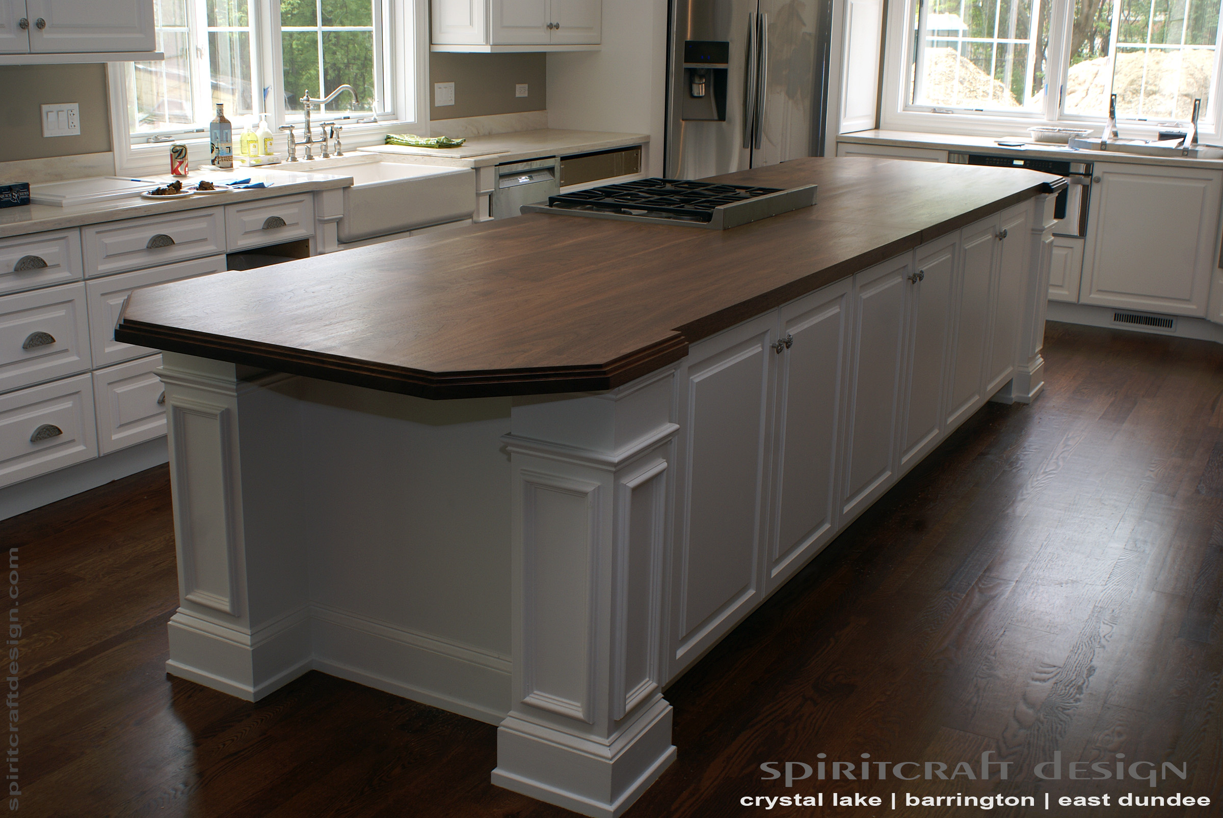 walnut kitchen island custom walnut slab kitchen island top by spiritcraft 3345