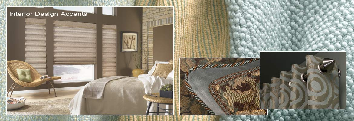 Decorative Pillows, Bedding, Roman Shades and Designer Fabrics