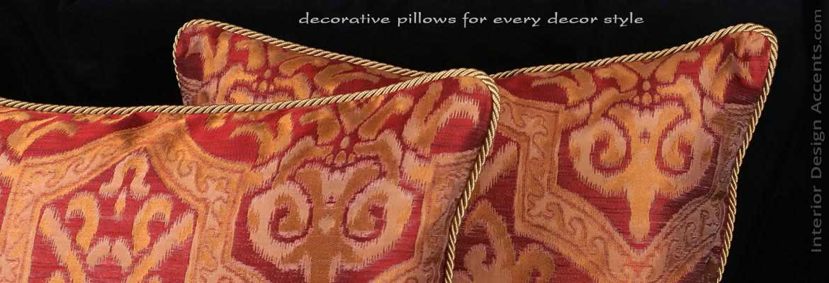 Pindler Silk Designer Decorative Pillows