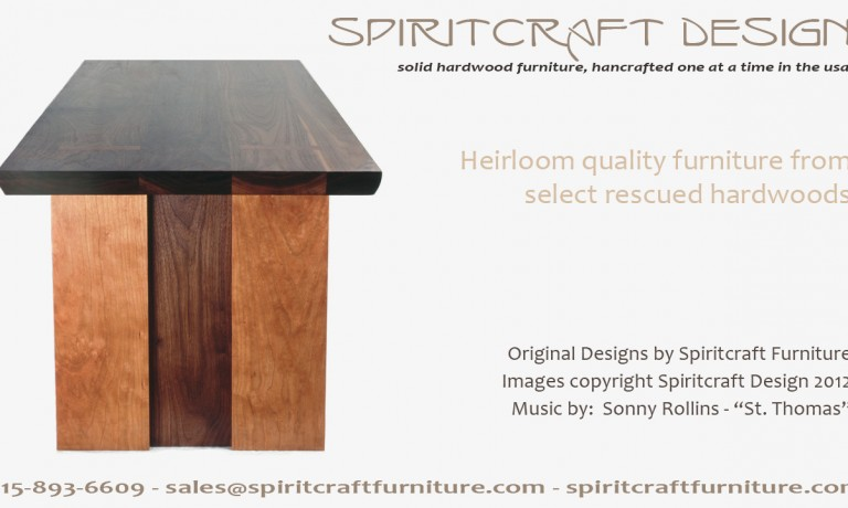 Spiritcraft Furniture Video | Handcrafted Hardwood Interior Decor in HD