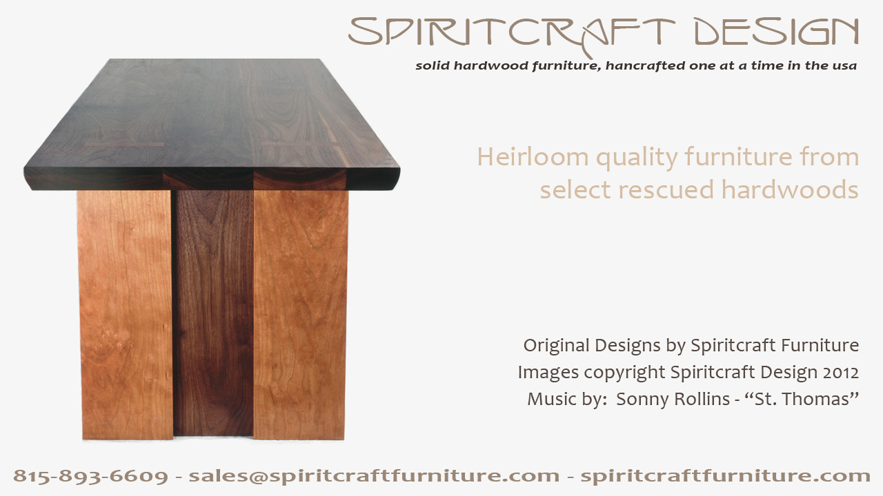 Spiritcraft Furniture Video | Handcrafted Hardwood Interior Decor in HD