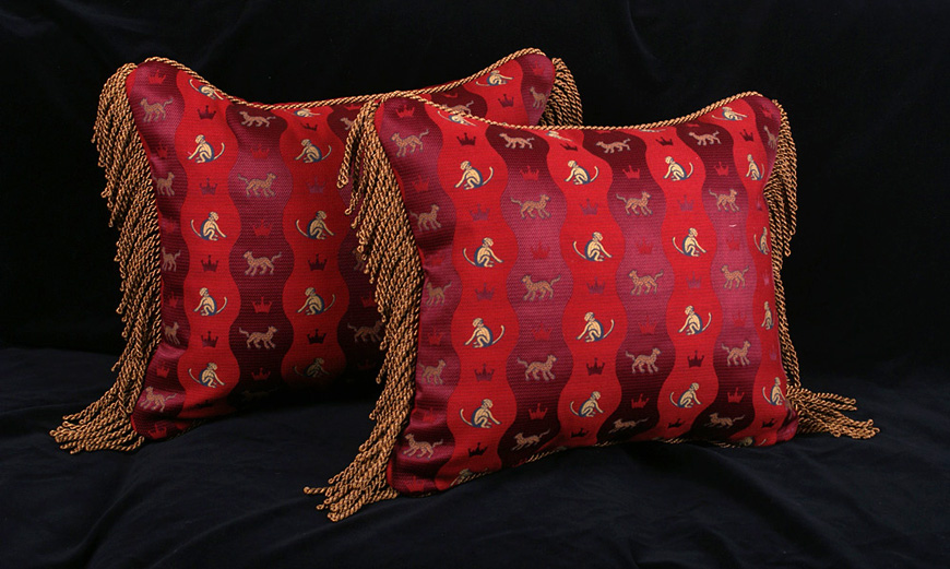 Schumacher Decorative Throw Pillows Luxury Leopard And