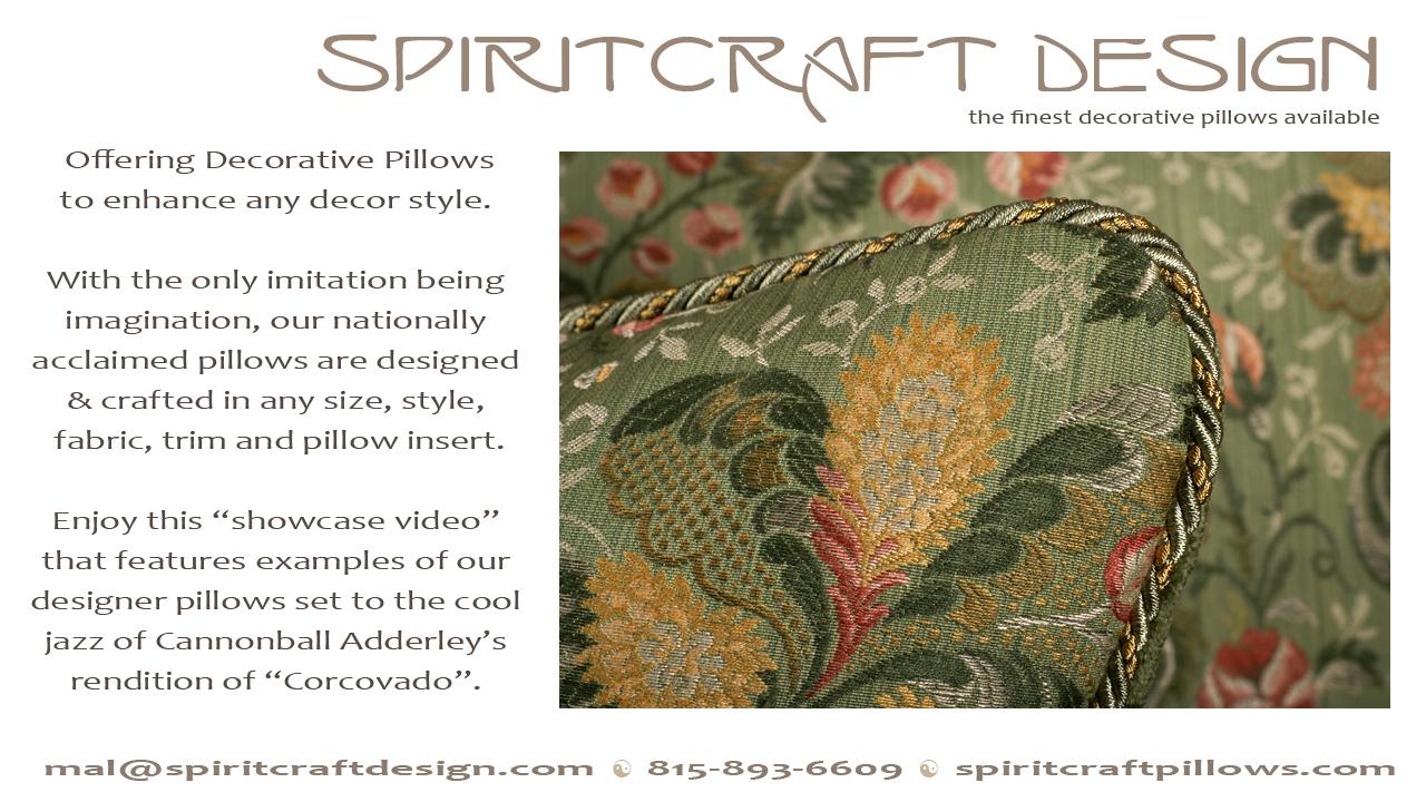 Decorative Pillow Video | Designer Home Decor Accents in HD