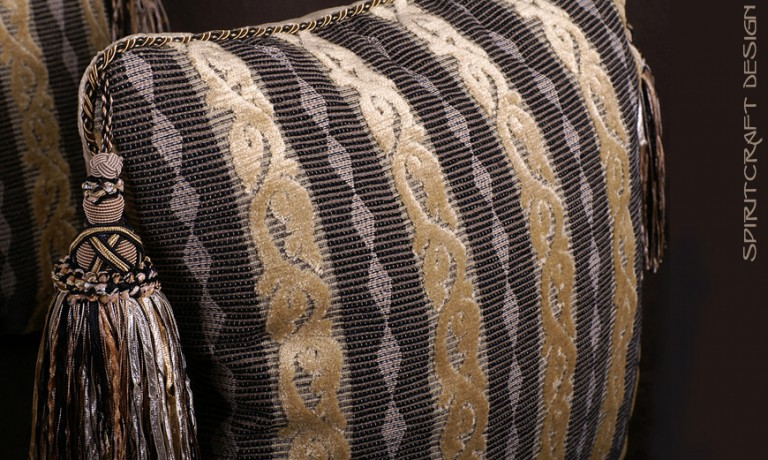 Anatomy of a Decorative Pillow, Part 1  Pillow Designs, Fabrics and Trim