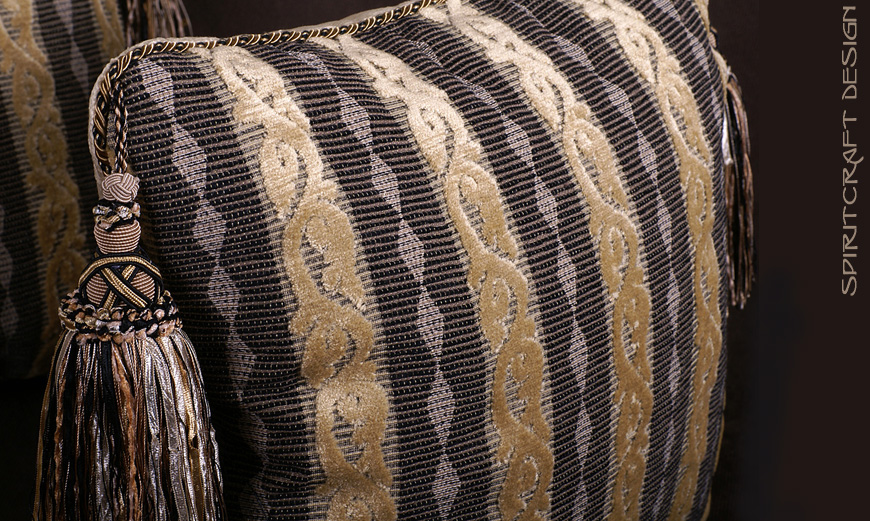 Anatomy of a Decorative Pillow, Part 1  Pillow Designs, Fabrics and Trim