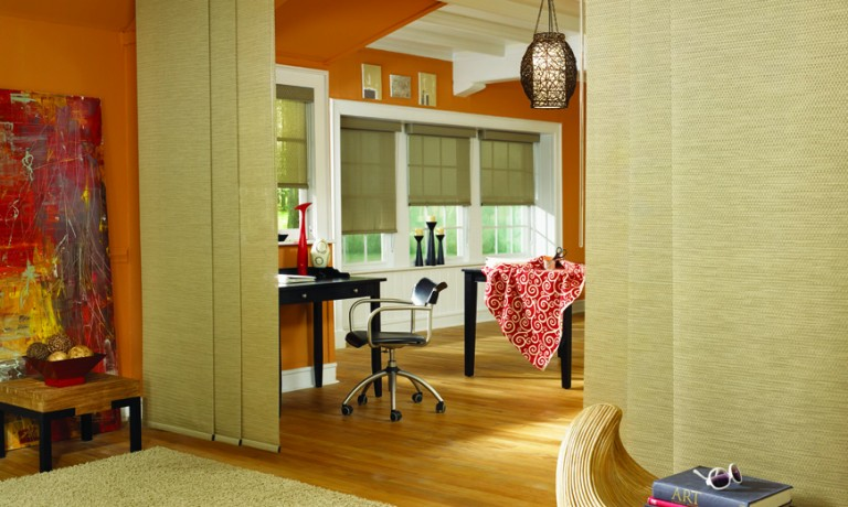 Functional and Appealing | Sliding Panels by Graber