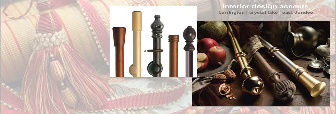Drapery Hardware, Rods and Fabric Trims