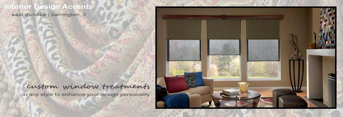 Custom Window Treatments, Blinds and Shades