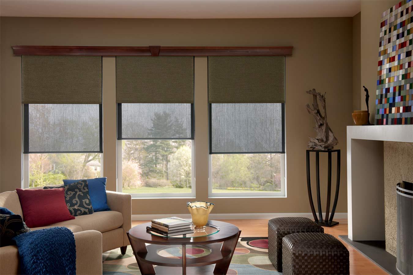 Graber Lightweaves Solar Shades Designer Custom Window Treatments